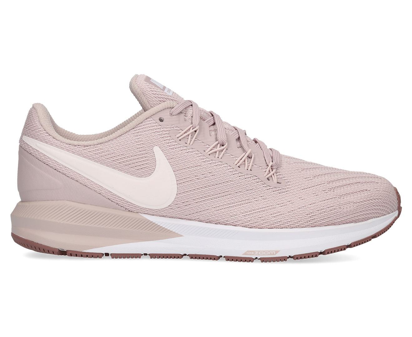 sports shoes 0ac24 870f9 Nike Womens Air Zoom Structure 22 Shoe - Particle RosePale Pink