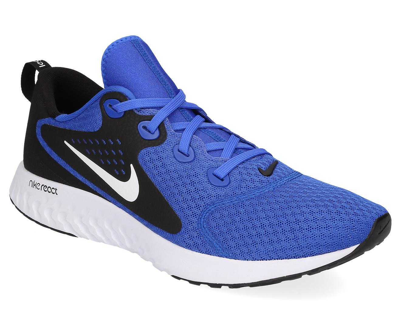 1bcf2d7e5270c Nike Men s Legend React Shoe - Hyper Royal White-Black