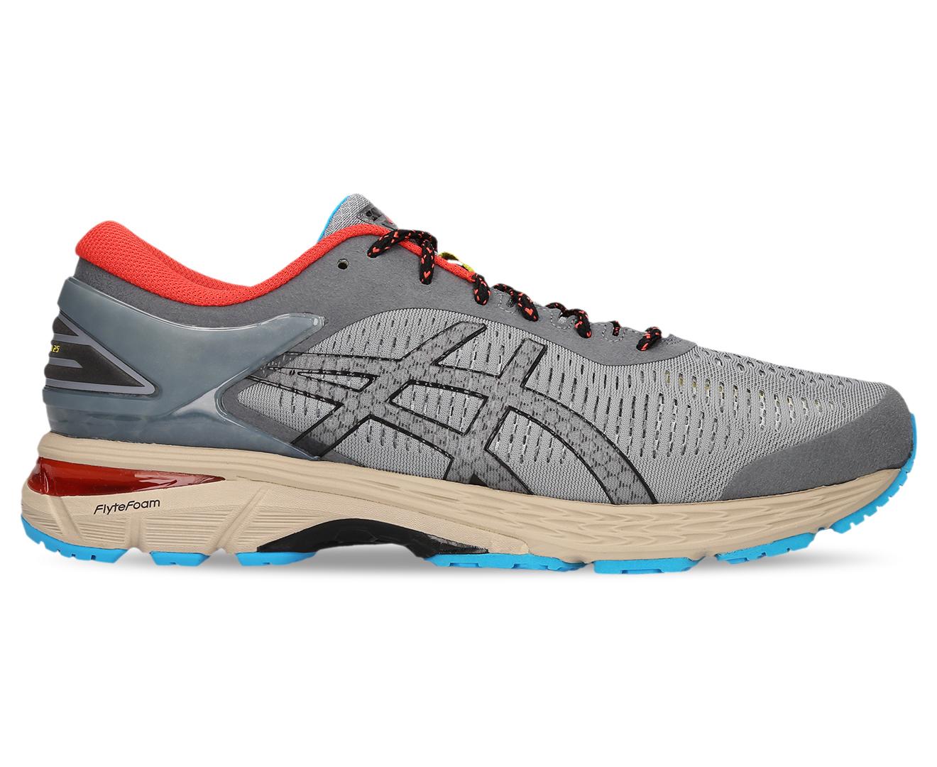 brand new 080e9 486d7 Details about ASICS Men's GEL-Kayano 25 Shoe - Stone Grey/Black