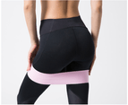 SPORX Resistance Bands for Legs and Butt - Exercise Bands Workout -Pink 1