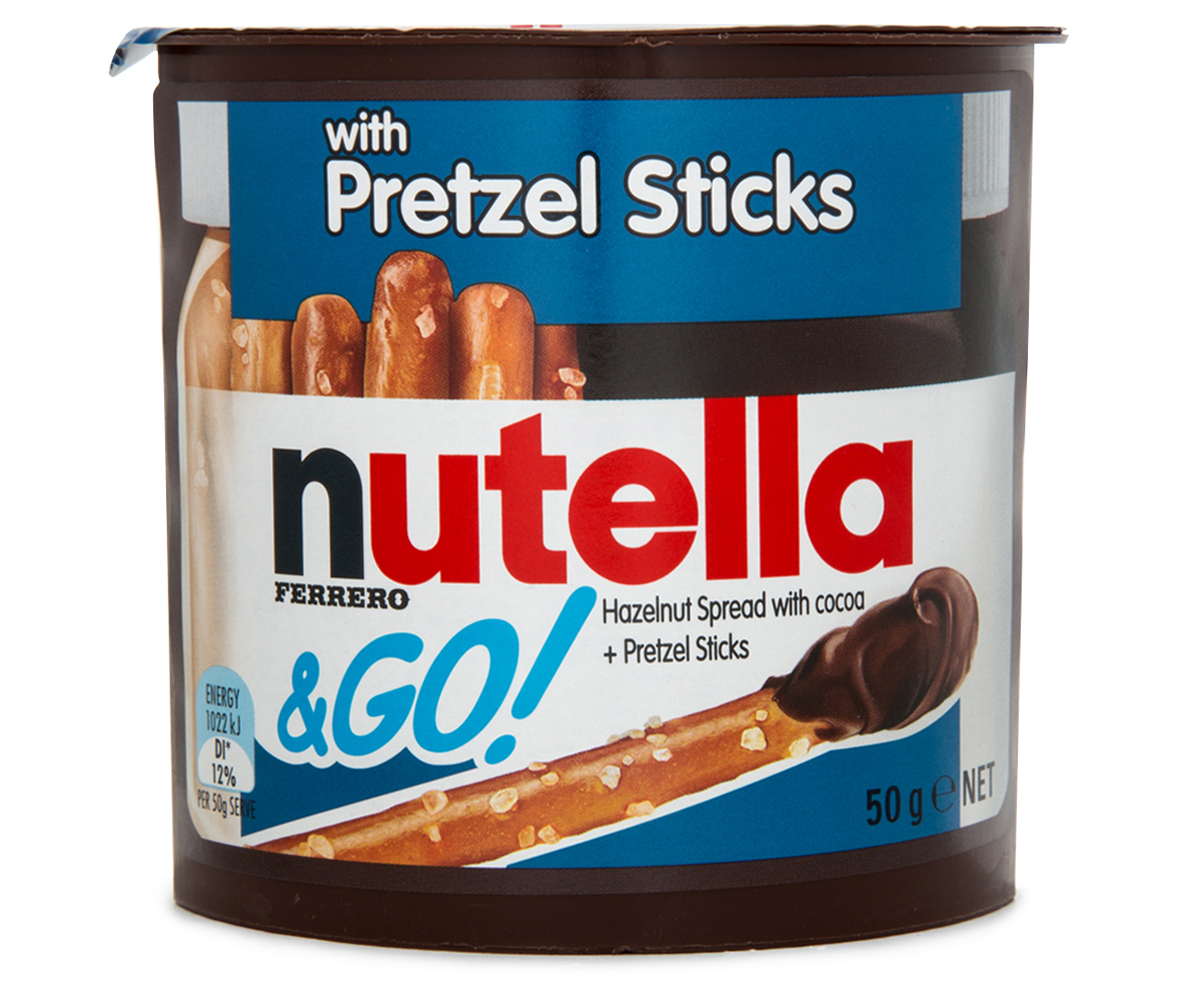 Nutella & Go w/ Pretzel Sticks 24pk