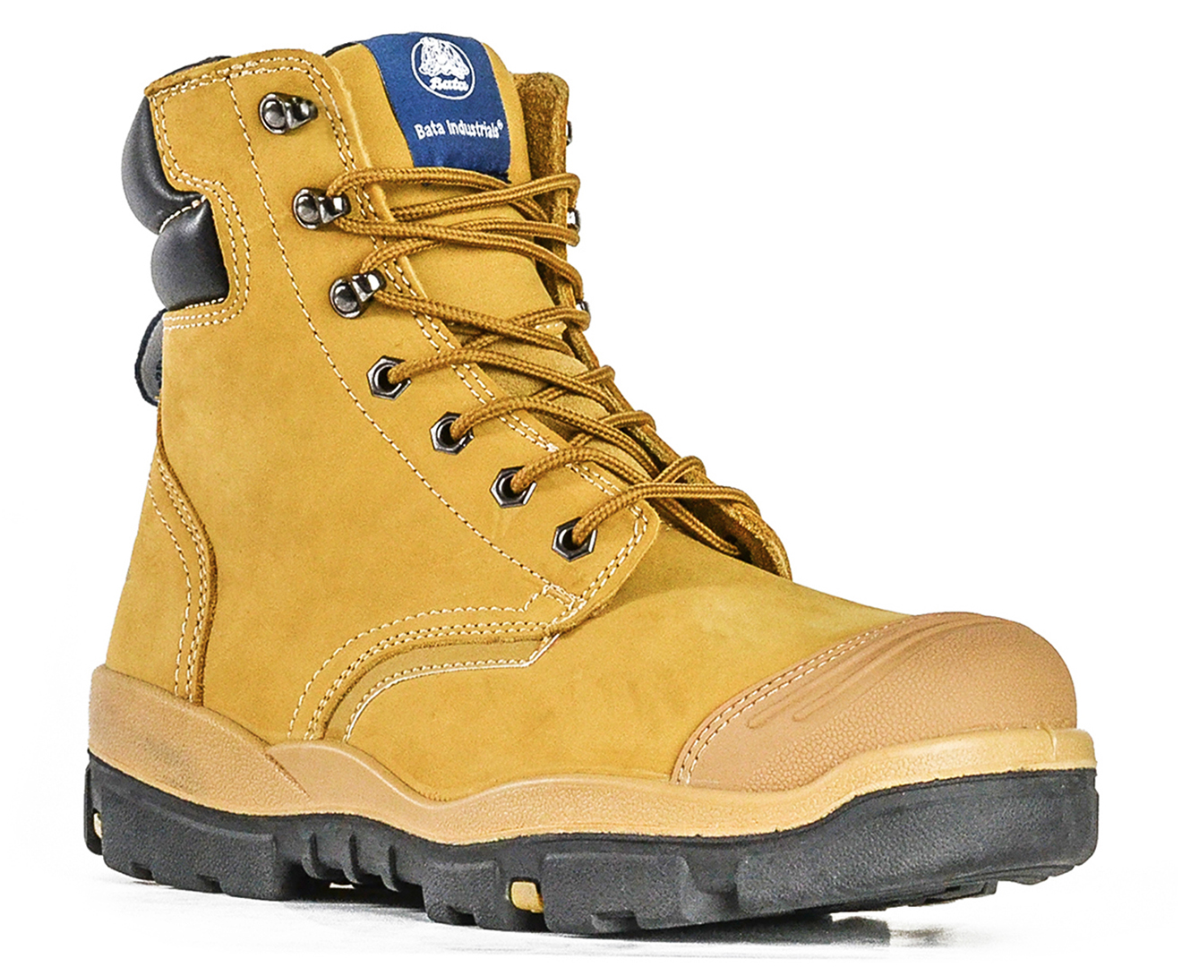 27dd34f7cc4 Bata Industrials Helix Ranger Lace Extra Wide Safety Boot - Wheat