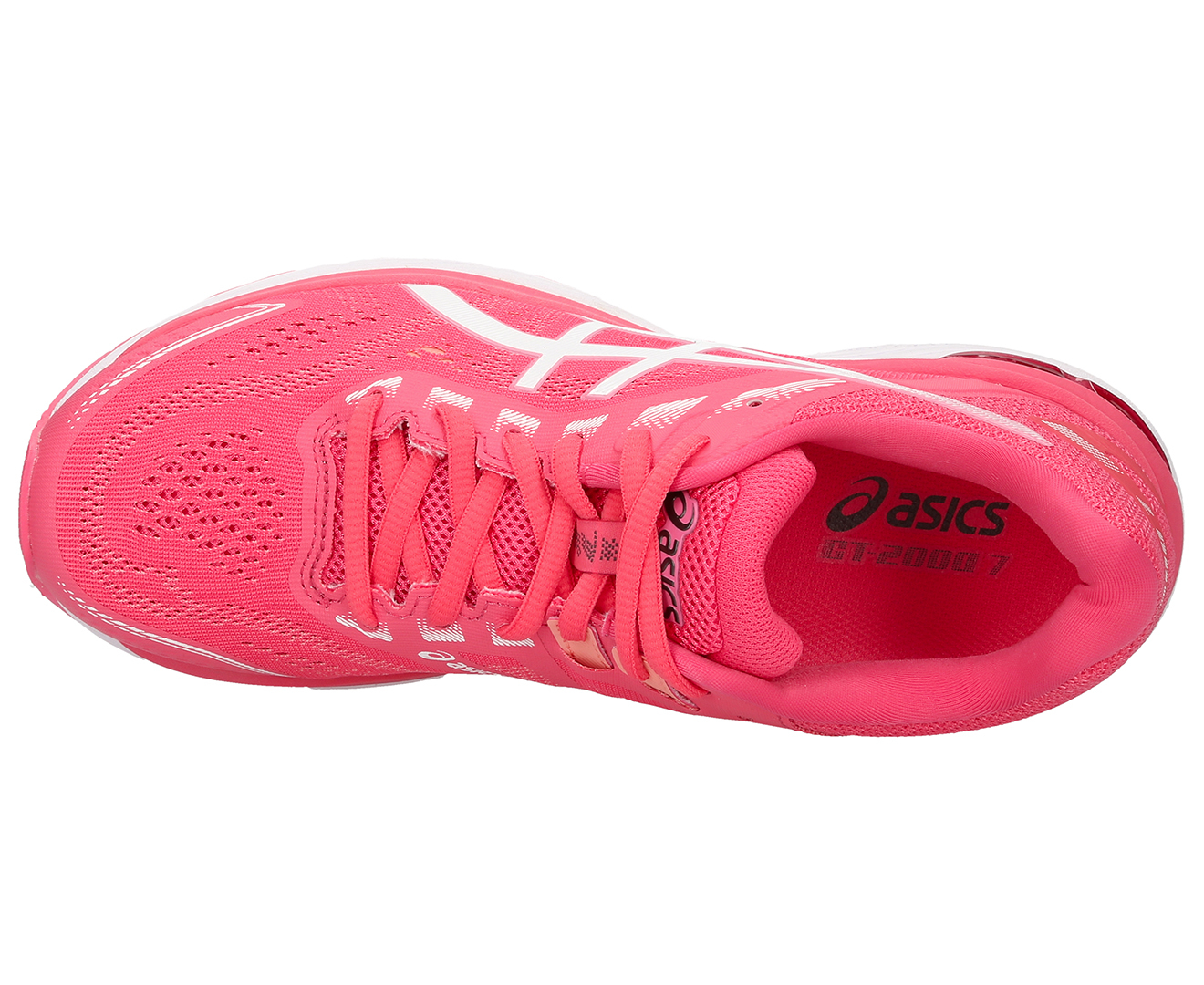 eb95084c84 ASICS Women's GT-2000 7 Shoe - Pink Cameo/White   Catch.com.au
