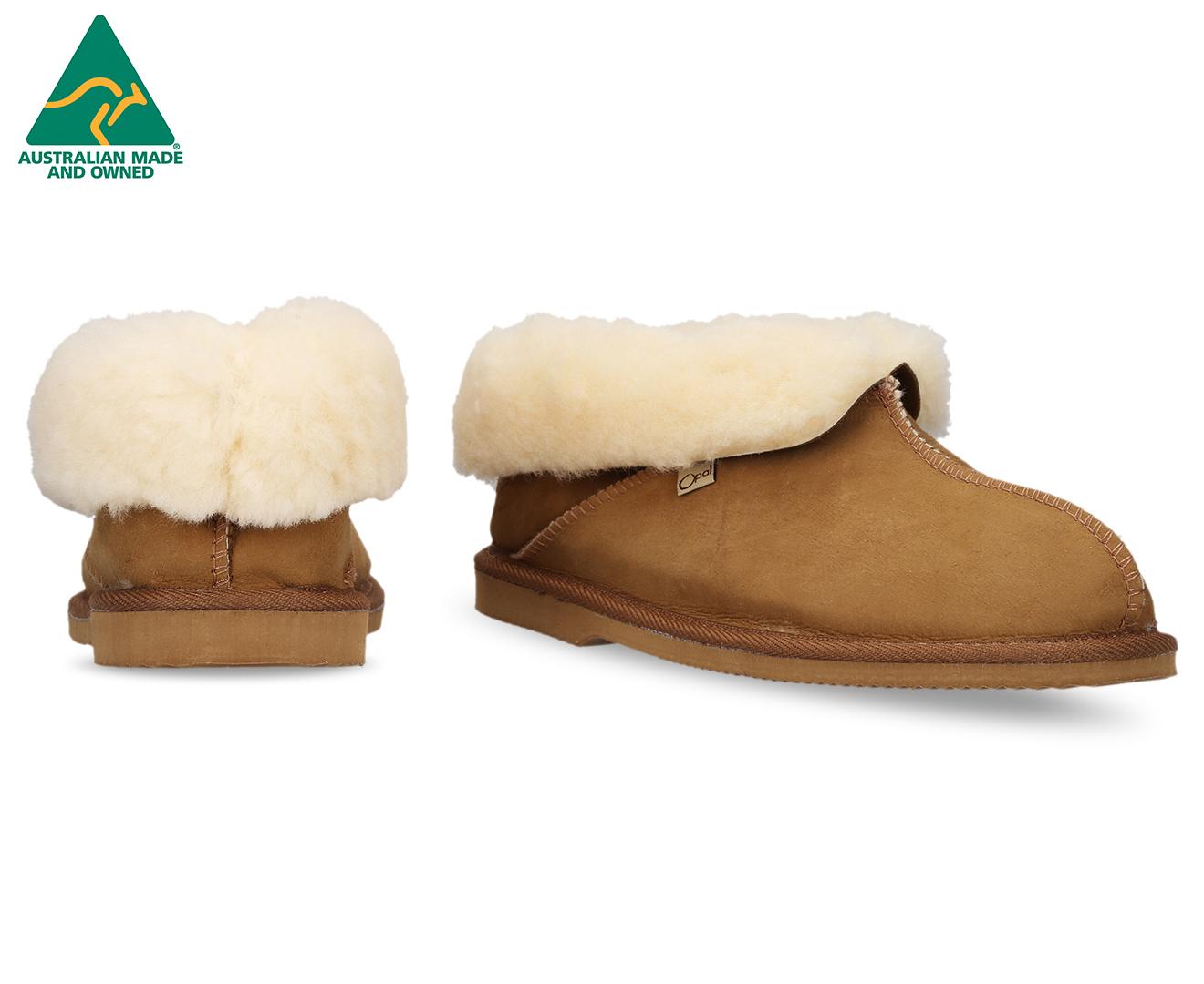 94e98d7ebf7 Details about Opal UGG Australian Made Sheepskin Boots - Chestnut