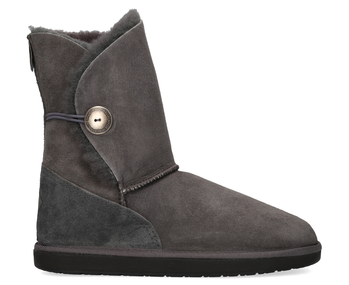 8f8d17b962e Details about Ugg Australia Brighton 3/4 Boot - Charcoal Australian Made