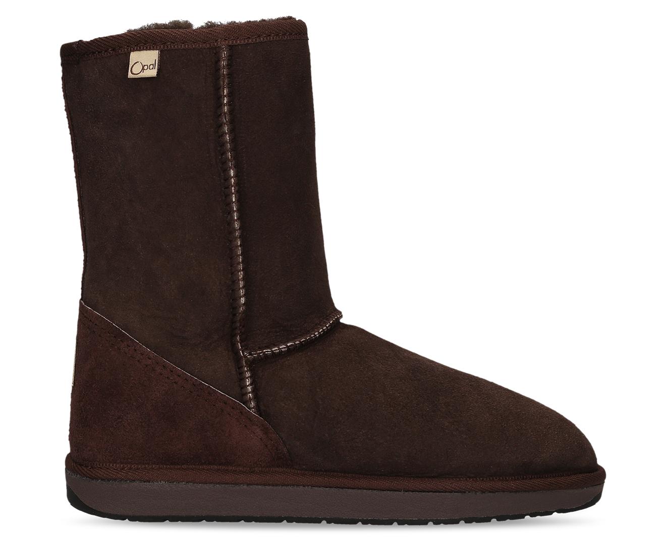 d270cbc72f4 Details about Opal UGG Australian Made Tidal 3/4 Sheepskin Boots - Chocolate