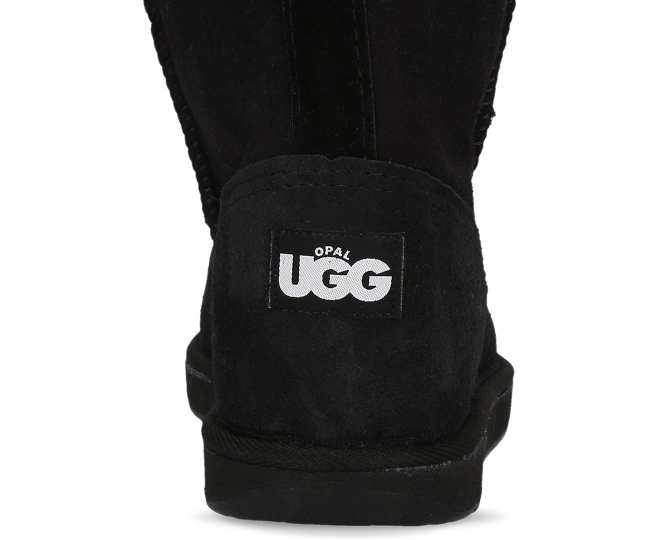 f1cc8d9ddb8 Opal UGG Australian Made Tidal 3/4 Sheepskin Boots - Black