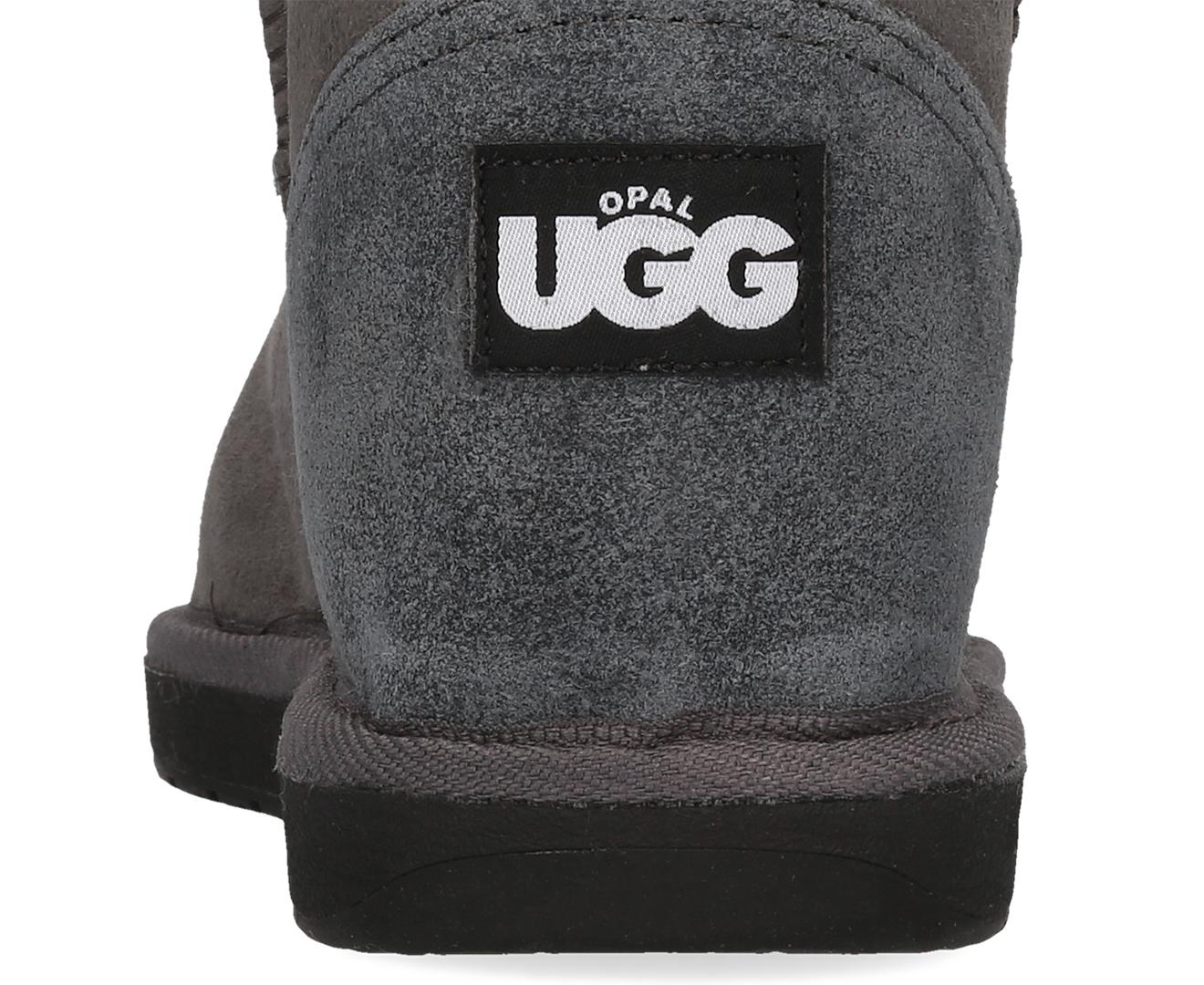 9840fbb3112 Opal UGG Australian Made Mini Opal Sheepskin Boots - Charcoal