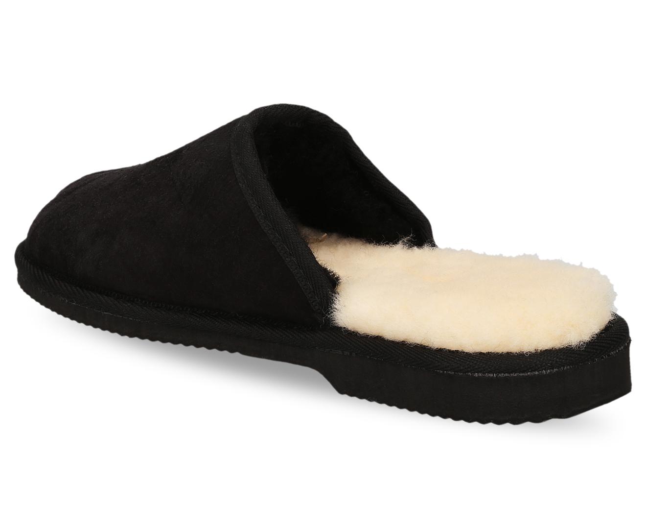 14d10c94d71 Opal UGG Australian Made Ian Scuffs Sheepskin Slides - Black