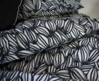 Apartmento Arabica Queen Bed Quilt Cover Set - Navy 4