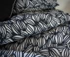 Apartmento Arabica King Bed Quilt Cover Set - Navy 4