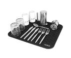 Silicone Dish Draining Mat | M&W Black 2