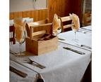 Bamboo Utensil Cutlery Holder   M&W 5