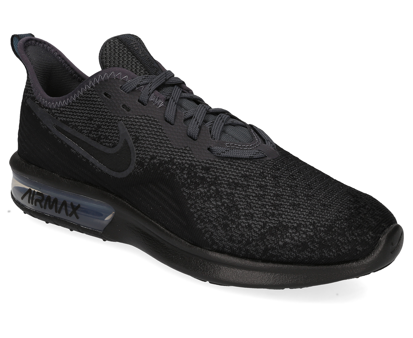 Nike Women's Air Max Sequent 4 Running Sports Shoes BlackBlack Anthracite