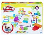 Play-Doh Shape & Learn Textures & Tools Set 1
