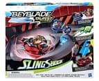 Beyblade Burst Turbo Slingshock Rail Rush Battle Set 1
