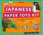 Japanese Paper Toys Kit : Origami Paper Toys That Walk, Jump, Spin, Tumble and Amaze 1