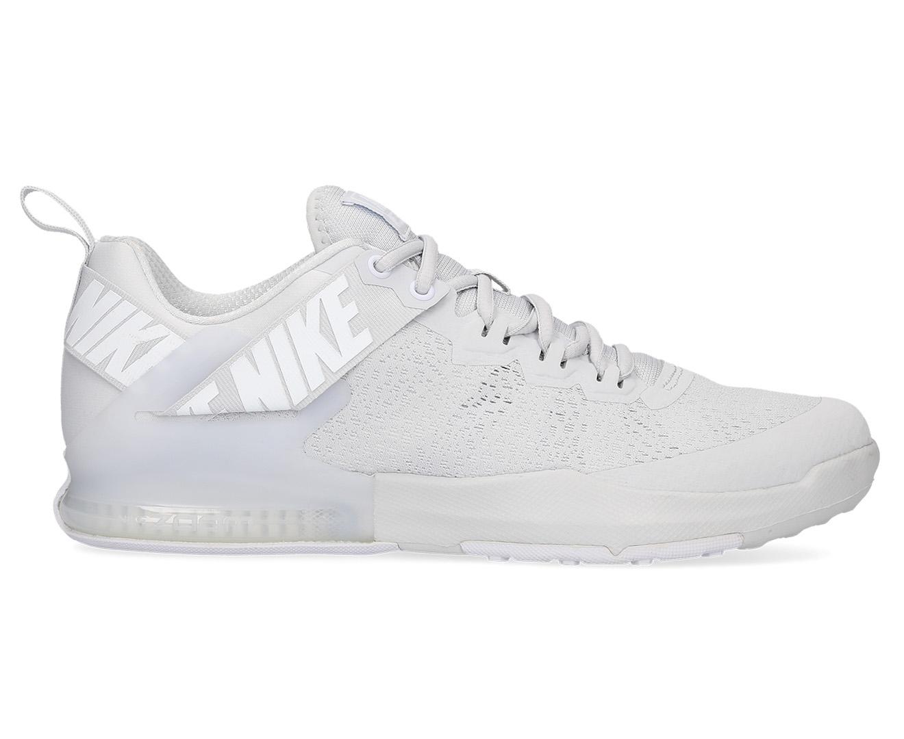 8c8e84877213 Nike Men s Zoom Domination TR 2 Shoe - Pure Platinum White