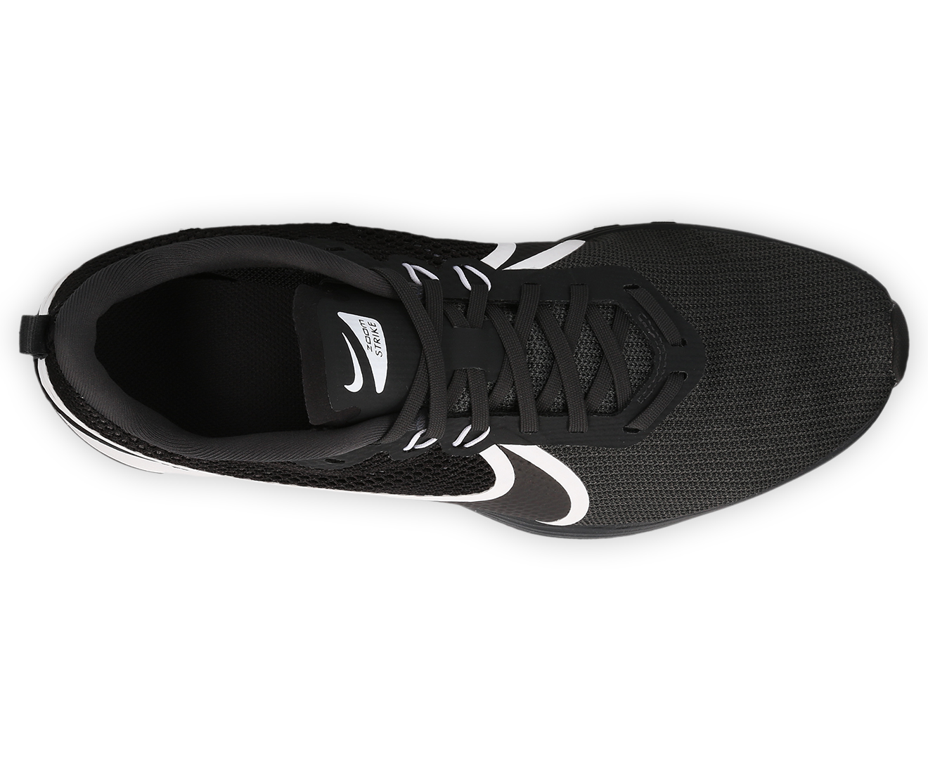 ac5267e43d57e Nike Men s Zoom Strike 2 Running Shoe - Anthracite Black-White ...