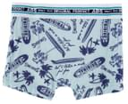Absorba Boys' Boxer 2-Pack - Blue/Teal 4
