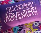 My Little Pony Adventure Single Bed Reversible Quilt Cover Set - Multi 4
