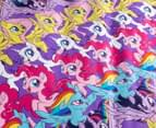My Little Pony Adventure Single Bed Reversible Quilt Cover Set - Multi 6