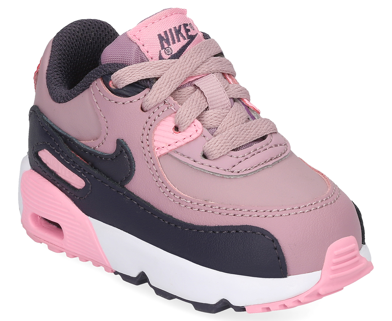 save off 7e6f6 ba314 Nike Toddler Girls  Air Max 90 LTR Shoe - Elemental Rose Gridiron-Pink    Mumgo.com.au