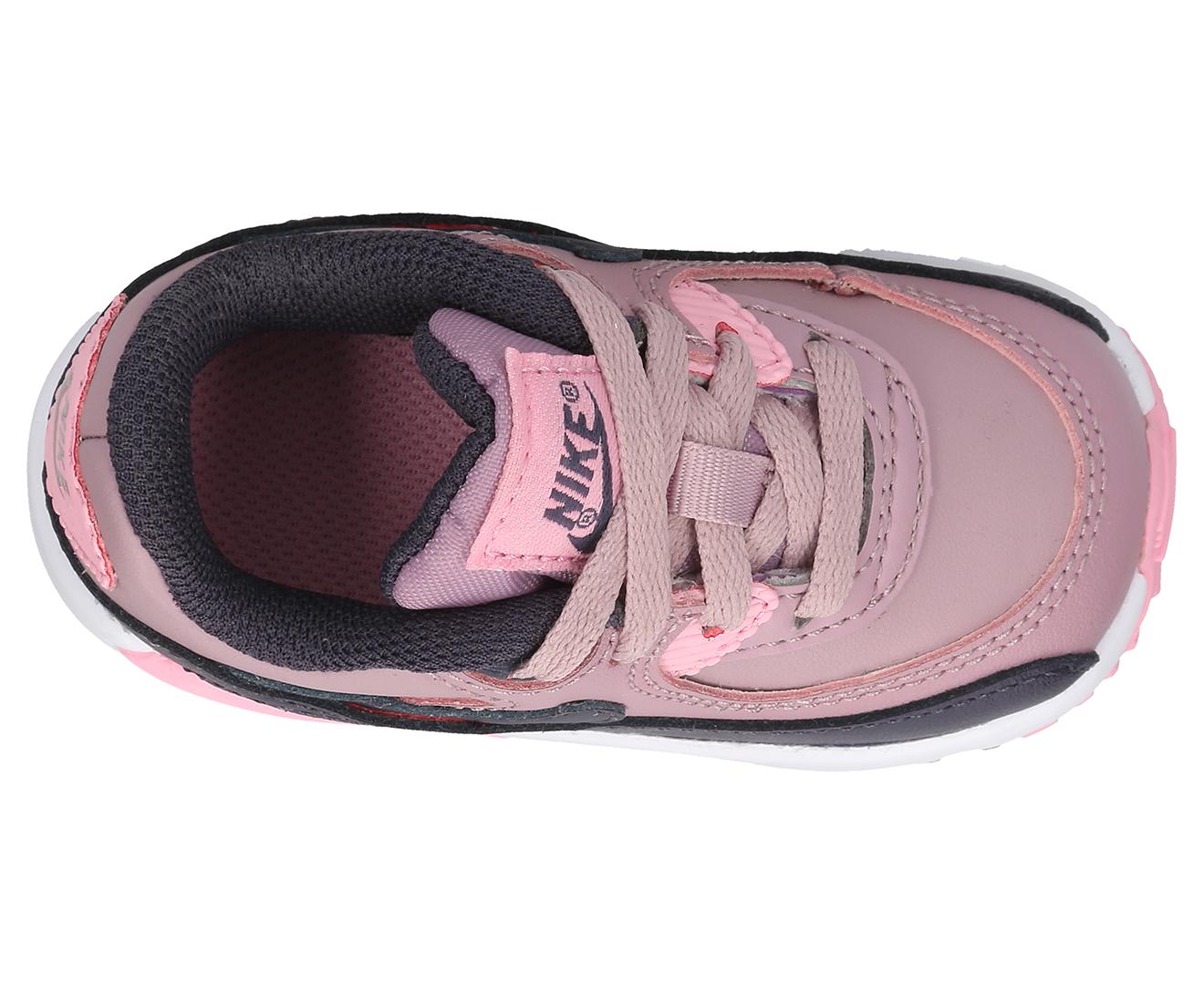 size 40 758e5 da219 Nike Toddler Girls  Air Max 90 LTR Shoe - Elemental Rose Gridiron-Pink    Catch.com.au