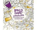 Roald Dahl : A Marvellous Colouring Book Adventure : Kids Colouring Book 1