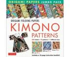 Kimono Patterns : Origami Paper Jumbo Pack : 16-Page Book, 300 Folding Sheets in 3 Sizes (6 Inch; 6 3/4 Inch and 8 1/4 Inch) 1