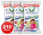 3 x Green Shield Food Surface Wipes 70pk 1