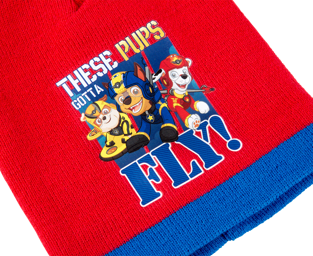 fa7593748 Paw Patrol Kids' 3-Piece Beanie, Scarf & Gloves Set - Red | Catch.com.au