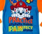Paw Patrol Boys' Practice Makes Pawfect Long Sleeve T-Shirt - Orange 3
