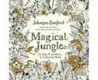 Magical Jungle : An Inky Expedition and Colouring Book 1