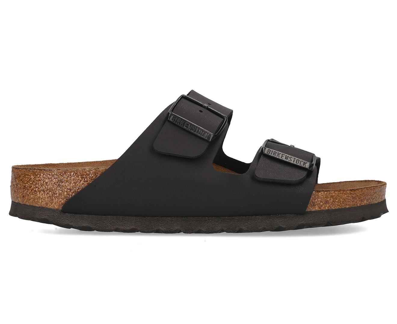 93155f06cea Birkenstock Arizona Soft Footbed Narrow Fit Sandal - Black | Catch.com.au