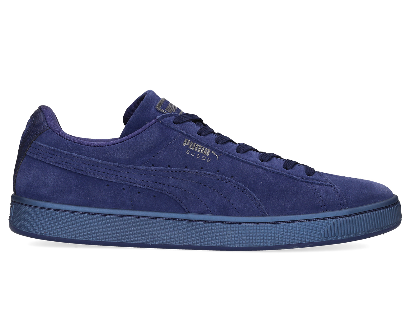 Details about Puma Men's Suede Classic Anodized Shoe Blue Depths