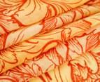 OZWEAR Connection Ugg 100% Merino Wool Scarf - Yellow/Orange 2