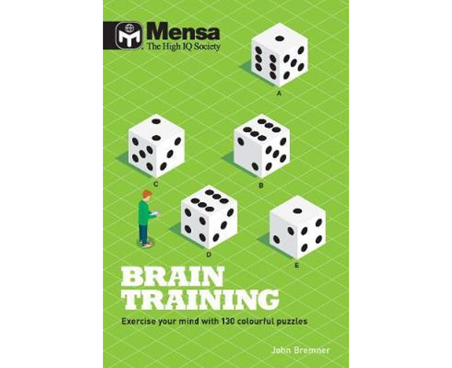 Mensa Brain Training : Exercise your Mind with 130 Colorful Puzzles
