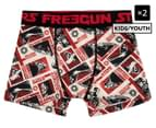 2 x Freegun Boys' Star Wars Microfibre Boxers - Multi 1