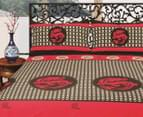 Luxury 250TC 100% Cotton Quilt Doona Duvet Cover Set Shanghai Dragon For Double , Queen Size Bed 1