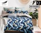 Gioia Casa Veronica Reversible Queen Bed Quilt Cover Set - Multi 1