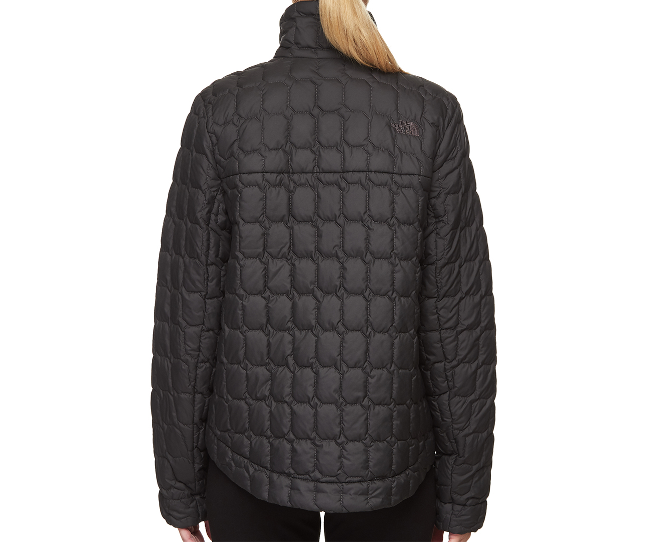 62cb28b04 The North Face Women's ThermoBall™ Insulated Crop Jacket - Asphalt Grey