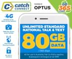 Catch Connect 365 Day Mobile Plan - 80GB 1