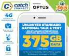 Catch Connect 365 Day Mobile Plan - 375GB 1