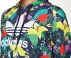 Adidas Originals Women's Cropped Hoodie - Multi 5