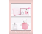 Jacadi Paris - Baby Shower Gift Set - with Teddy bear and Alcohol-Free Scented Water - Hypoallergenic - Pink - 100 ml 5