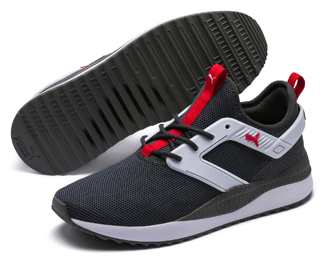 Puma Men's Pacer Next Excel Shoes AsphaltCharcoal Grey