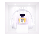Art Meets Art Fragrances - Bohemian Rhapsody - Made in France - Created by Most Renowned Perfumers - 50ml - Transparent 3