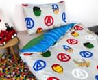 Marvel Avengers Microfibre Single Bed Quilt Cover Set 3