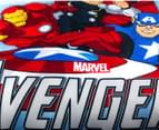 Marvel Avengers Microfibre Single Bed Quilt Cover Set 5
